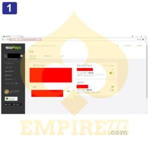 ecoPayz取引画像
