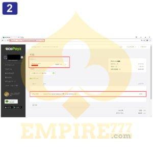 ecoPayz取引画2