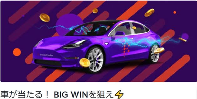 ビットカジノプロモ画像