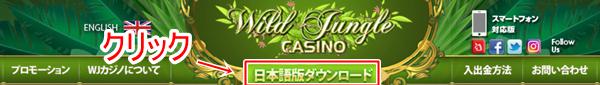 ワイルドジャングルカジノ登録画像1