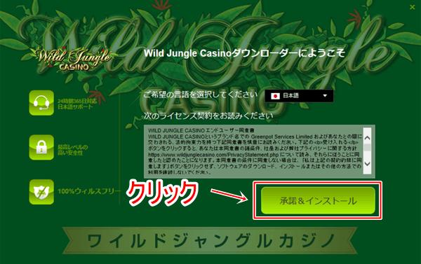 ワイルドジャングルカジノ登録画像2