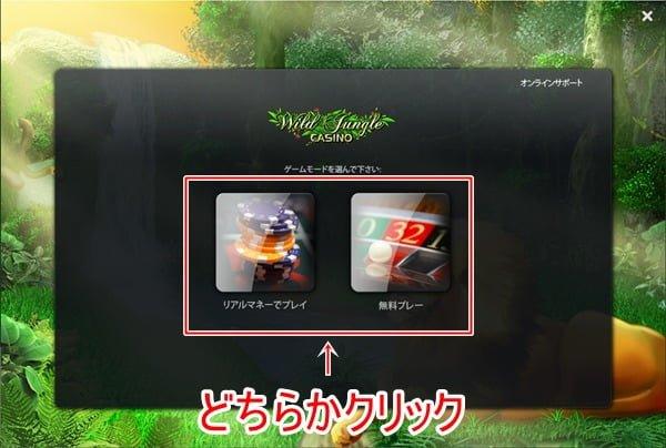 ワイルドジャングカジノ登録画像4