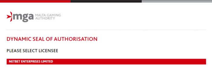 ネットベットライセンス画像
